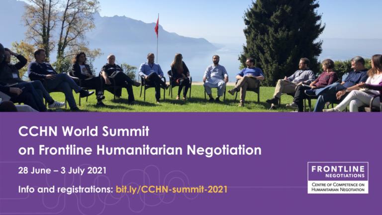 Conferência Mundial sobre Negociação Humanitária da Linha de Frente