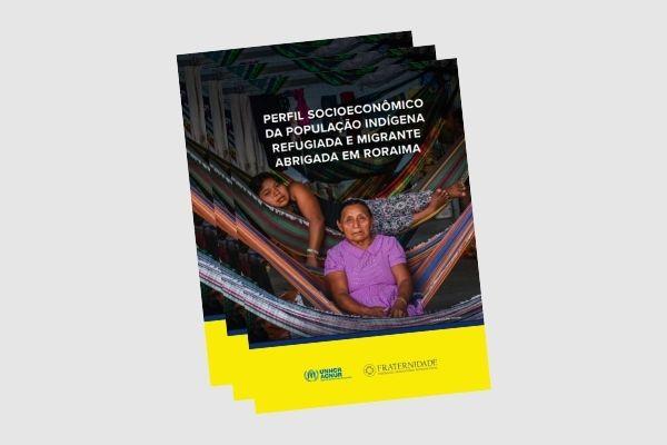 Perfil socioeconômico da população indígena refugiada e migrante em Roraima